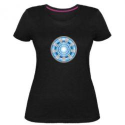 Жіноча стрейчева футболка Реактор Тоні Старка
