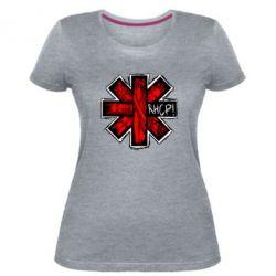 Жіноча стрейчева футболка RHCP sublim
