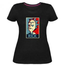 Женская стрейчевая футболка Rick