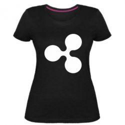 Жіноча стрейчева футболка Ripple