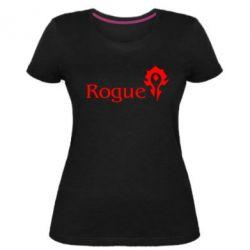 Жіноча стрейчева футболка Rogue Орда