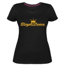 Женская стрейчевая футболка Royal Stance
