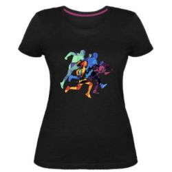 Жіноча стрейчева футболка Run