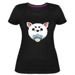 Жіноча стрейчева футболка Садахару