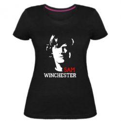 Жіноча стрейчева футболка Sam Winchester