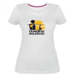 Жіноча стрейчева футболка Samurai Champloo