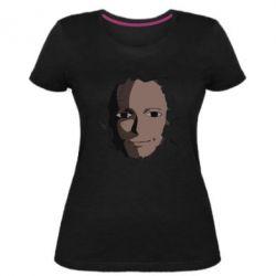 Жіноча стрейчева футболка Сайтама
