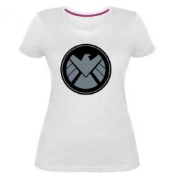 Женская стрейчевая футболка Щ.И.Т.
