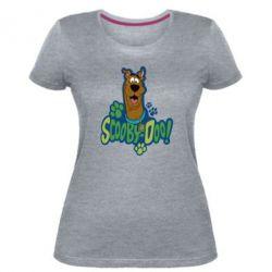 Женская стрейчевая футболка Scooby Doo!