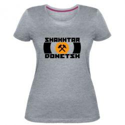 Женская стрейчевая футболка Shakhtar Donetsk