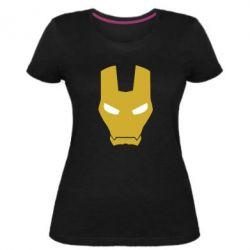 Жіноча стрейчева футболка Шолом Залізної Людини