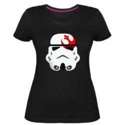 Жіноча стрейчева футболка Штурмовик