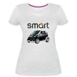 Женская стрейчевая футболка Smart 450 - FatLine