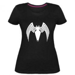 Жіноча стрейчева футболка Spider venom