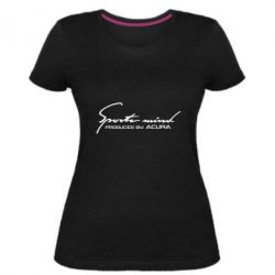 Жіноча стрейчева футболка Sport mini produced by acura