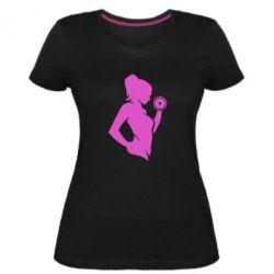 Жіноча стрейчева футболка Sports Girl
