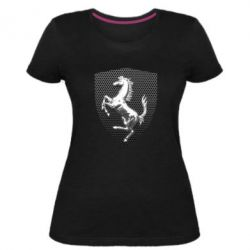 Жіноча стрейчева футболка Stallion metal