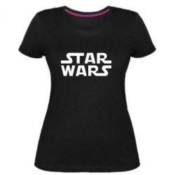 Жіноча стрейчева футболка STAR WARS