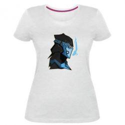 Женская стрейчевая футболка Sub-Zero