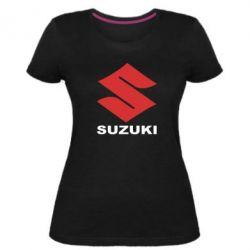 Женская стрейчевая футболка Suzuki - FatLine