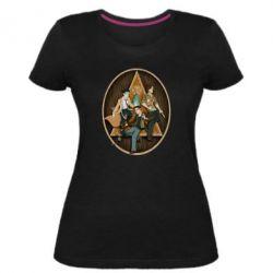 Женская стрейчевая футболка Сверхъестественное Арт