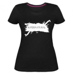 Жіноча стрейчева футболка Надприродне