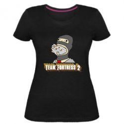 Женская стрейчевая футболка Team Fortress 2 Art