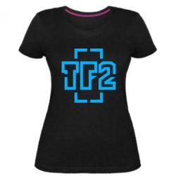 Женская стрейчевая футболка Team Fortress 2 logo