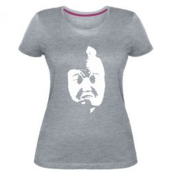 Женская стрейчевая футболка Телекомпания ВИД