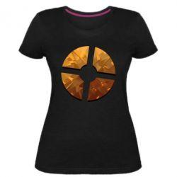 Жіноча стрейчева футболка TF 2