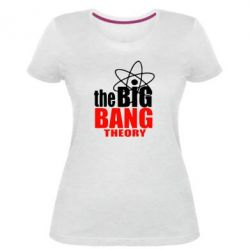 Жіноча стрейчева футболка The Bang theory Bing
