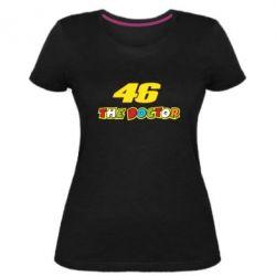 Жіноча стрейчева футболка The Doctor Rossi 46