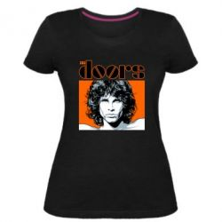 Жіноча стрейчева футболка The Doors