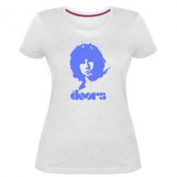 Женская стрейчевая футболка The Doors