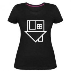 Женская стрейчевая футболка The Neighbourhood Logotype
