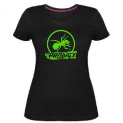 Жіноча стрейчева футболка The Prodigy мураха
