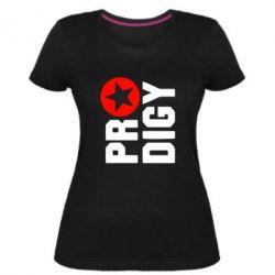 Женская стрейчевая футболка The Prodigy Star