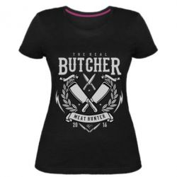Жіноча стрейчева футболка The Real Butcher