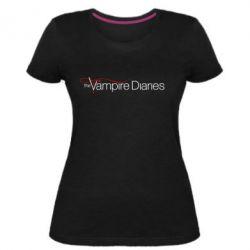 Жіноча стрейчева футболка The Vampire Diaries Small