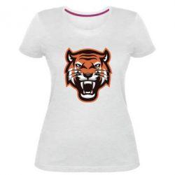 Жіноча стрейчева футболка Tiger