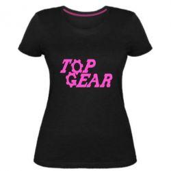 Жіноча стрейчева футболка Top Gear I