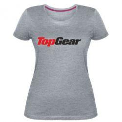 Жіноча стрейчева футболка Top Gear