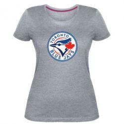 Жіноча стрейчева футболка Toronto Blue Jays