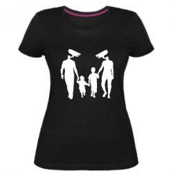 Женская стрейчевая футболка Тоталитаризм