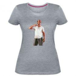 Женская стрейчевая футболка Trevor