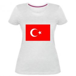 Женская стрейчевая футболка Турция