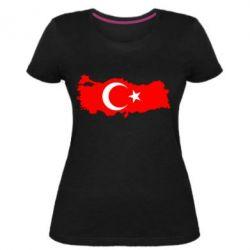 Женская стрейчевая футболка Turkey