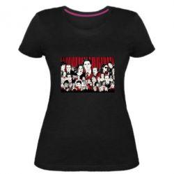 Женская стрейчевая футболка Твин Пикс