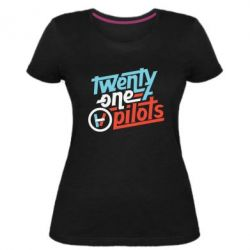Жіноча стрейчева футболка TWENTY ØNE PILØTS