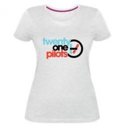Жіноча стрейчева футболка Twenty One Pilots Logo
